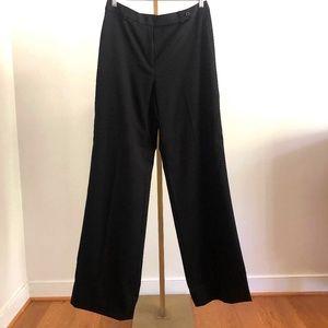 J. Crew High-waisted Black Wool Trouser - Tall